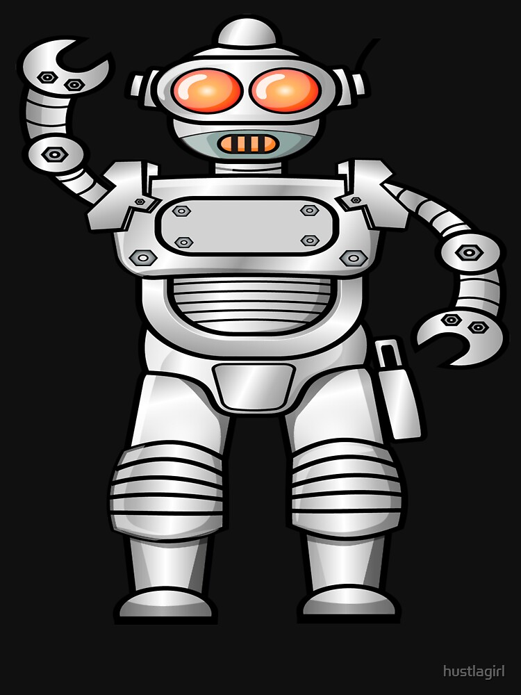 Vintage Robot Gifts Engineers Robotics Robot Games Classic T