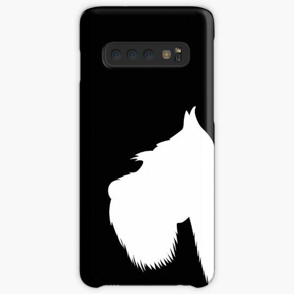 My Schnauzer white Samsung Galaxy Snap Case