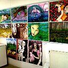 """Billy's Drawing Wall Chisholm 2008 by Belinda """"BillyLee"""" NYE (Printmaker)"""