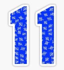 Eleven #1 Sticker