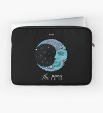 The Moon Tarot Card Laptop Sleeve