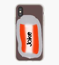 can of joke iPhone Case