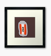 can of joke Framed Print