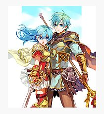 Ephraim&Eirika - Fire Emblem Heroes Photographic Print