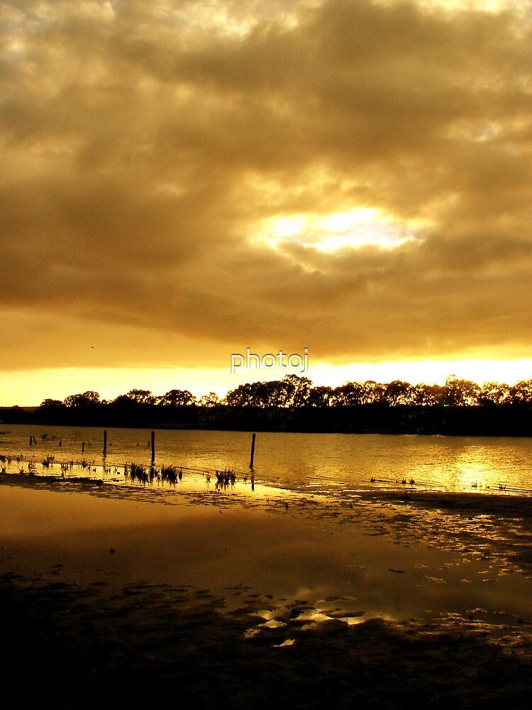 photoj S.A. River Murray, Sunrise by photoj