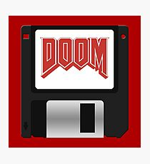 DooM Floppy Photographic Print