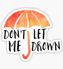 Drown Sticker