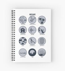 Twenty One Pilots Vessel Breakdown Design Spiral Notebook