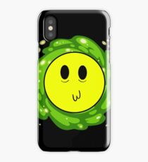 Happy Time Travel Face iPhone Case/Skin