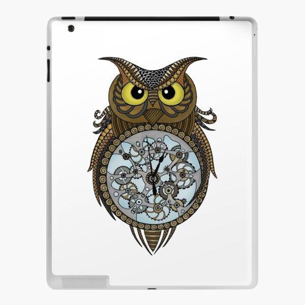 Steam punk owl iPad Skin