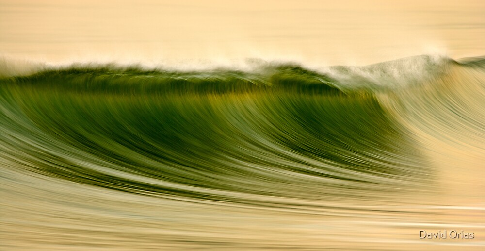 Green Wave #2 by David Orias
