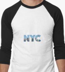 New York City - NYC - U.S.A Men's Baseball ¾ T-Shirt