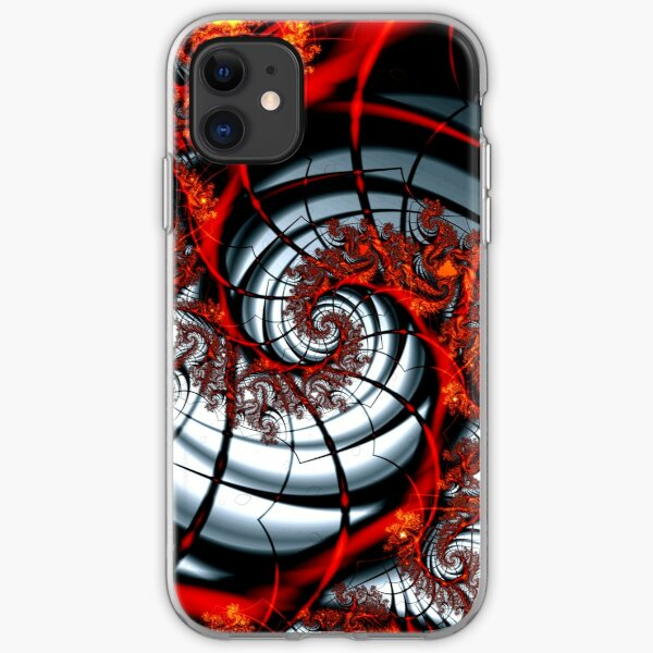 Fractal Web iPhone Soft Case