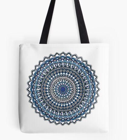 Deep blue sea mandala Tote Bag