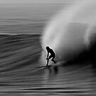 Surfer Silhouette by David Orias