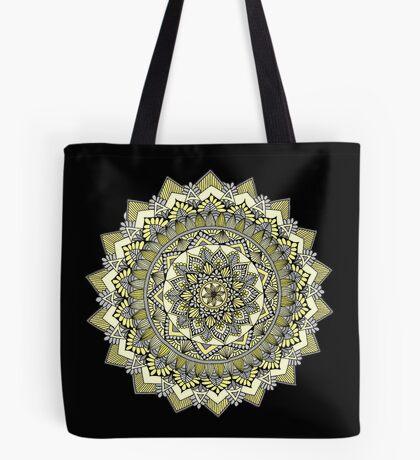 Sweet yellow mandala Tote Bag