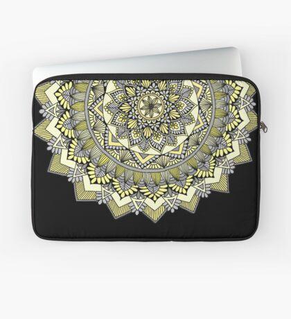 Sweet yellow mandala Laptop Sleeve