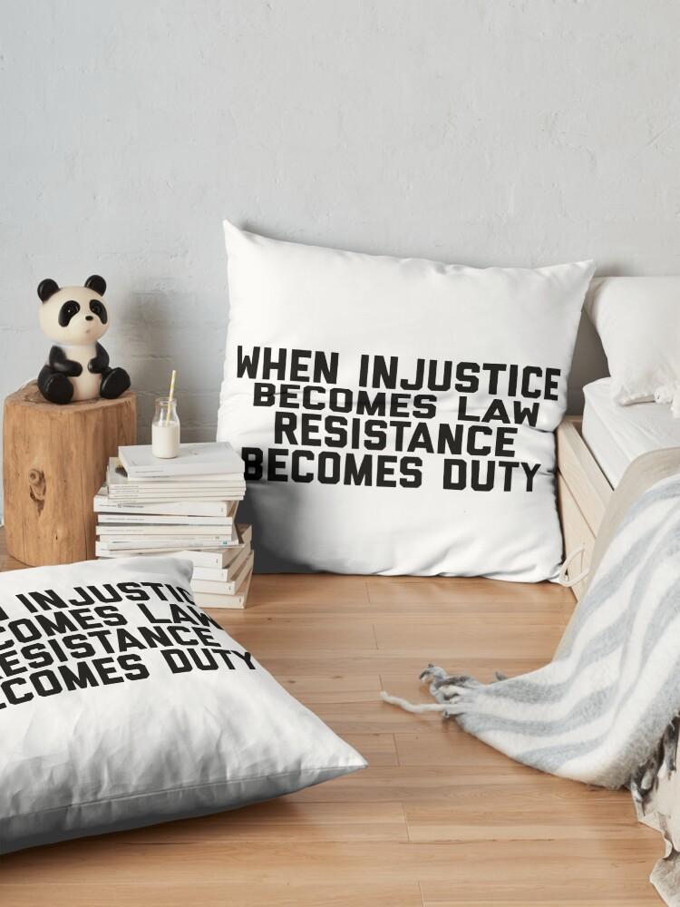 Alternate view of Resistance Floor Pillow