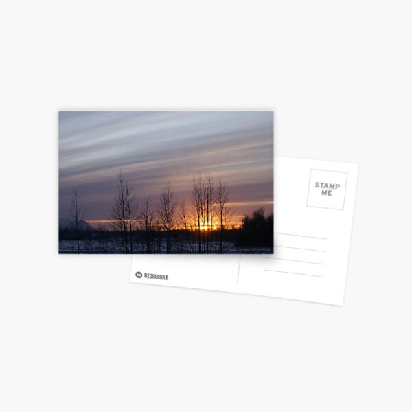 Awesome Sunset Postcard