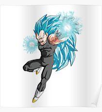 Vegeta SS3G - Dragon Ball Z Poster