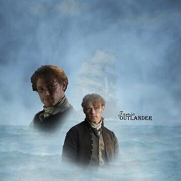 Outlander/Jamie Fraser by Sassenach616