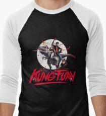 KUNG FURY Men's Baseball ¾ T-Shirt