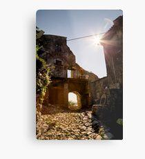 Campo, Gardasee, Italien Metalldruck