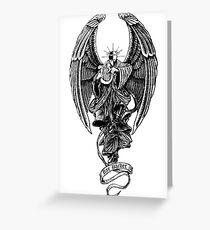 Ray Barbee Death Angel Greeting Card