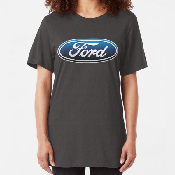 Ford Logo Slim Fit T-Shirt