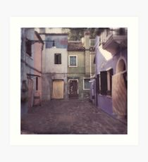 Burano, Venedig Kunstdruck