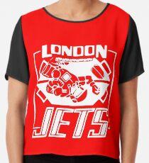 London Jets, white - Red Dwarf Chiffon Top