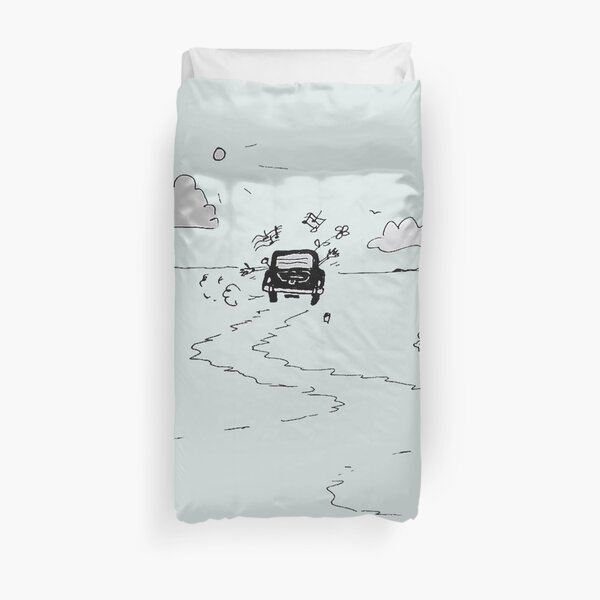 Going on vacation Duvet Cover