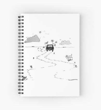 Going on vacation Spiral Notebook