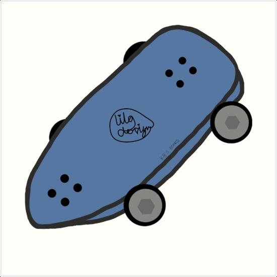 Skateboard  by LilosDesigns