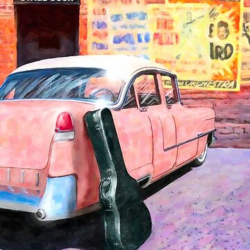 Vintage Pink Cadillac - 1950s Rock N Roll by marksda1