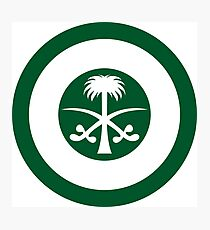 Roundel of the Royal Saudi Air Force Photographic Print