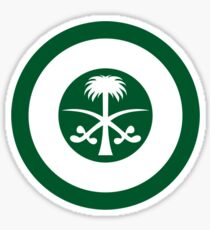 Roundel of the Royal Saudi Air Force Sticker