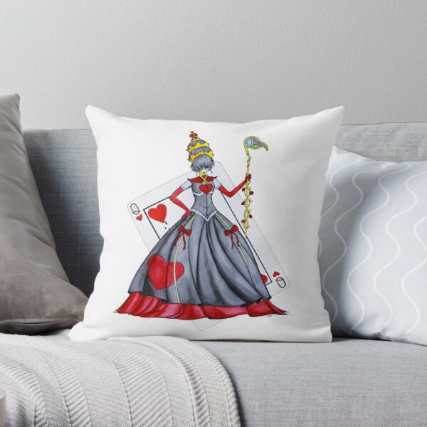 Queen of Heart Throw Pillow
