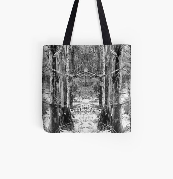 Mirror Tree 1 All Over Print Tote Bag