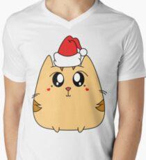 Christmas Cute Kitty Cat T-Shirt