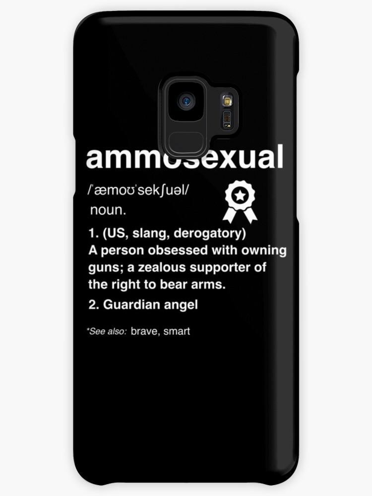 Ammosexual meaning