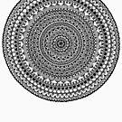 Black Moon Mandala by paviash