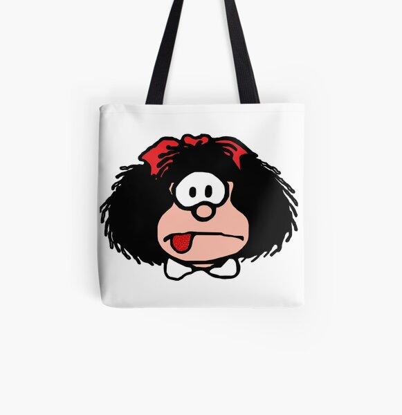 Mafalda Bolsa estampada de tela