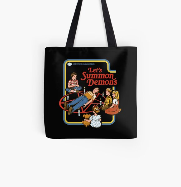 Let's Summon Demons All Over Print Tote Bag