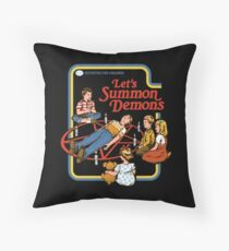 Let's Summon Demons Throw Pillow