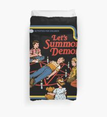 Let's Summon Demons Duvet Cover
