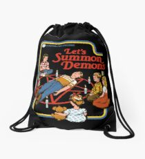 Let's Summon Demons Drawstring Bag