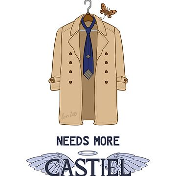 Needs More Castiel by mistina