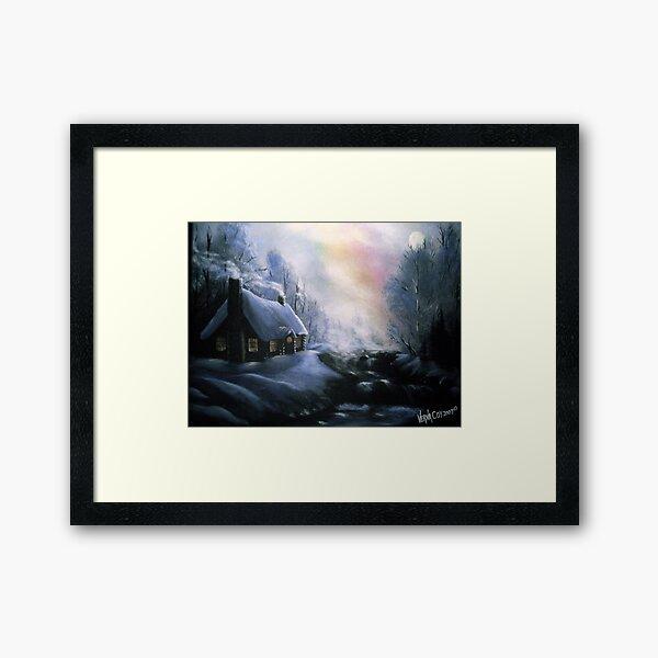 An Alaskan Night Framed Art Print