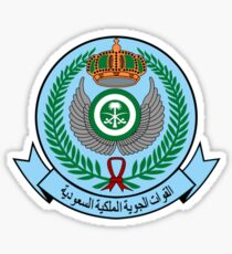 Emblem of the Royal Saudi Air Force  Sticker